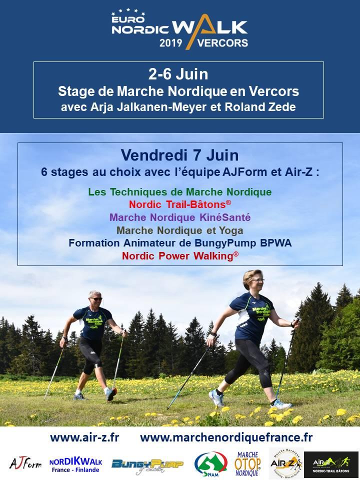 vercors - Stage de Marche Nordique dans le Vercors avec l'équipe AJForm et Air-R Flyer-10