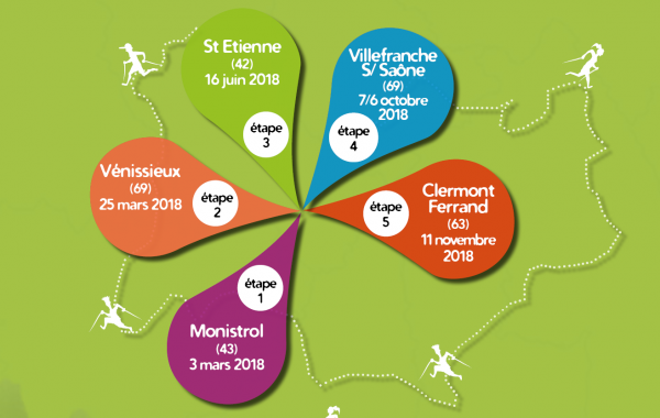 La ligue AuRA : Marche Nordique - Le circuit régional prend de l'ampleur Header10