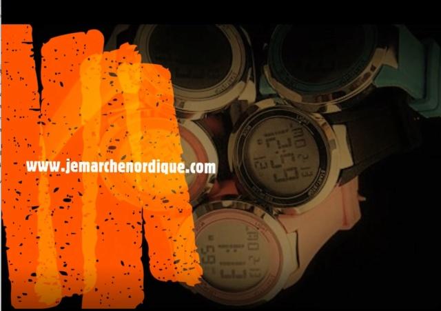 MARCHE - Sondage : Les montres connectées utilisées en Marche Nordique Montre10