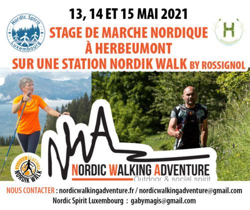 MARCHE - Stage de marche nordique Année 2021 – Station Nordik Walk Herbeumont Ardennes Nwa10