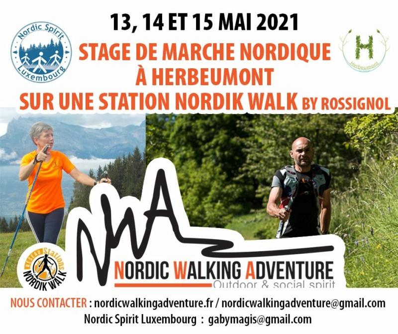 MARCHE - Stage de Marche Nordique Herbeumont - Belgique Nwadve10
