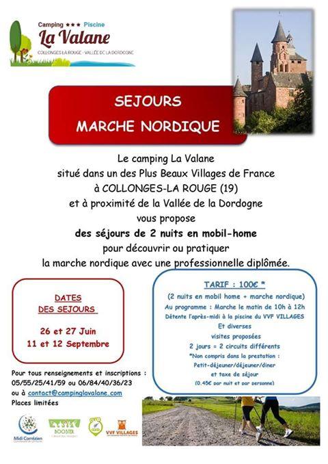 Sejour marche nordique sport santé en Corrèze 09/2018 Sejour10