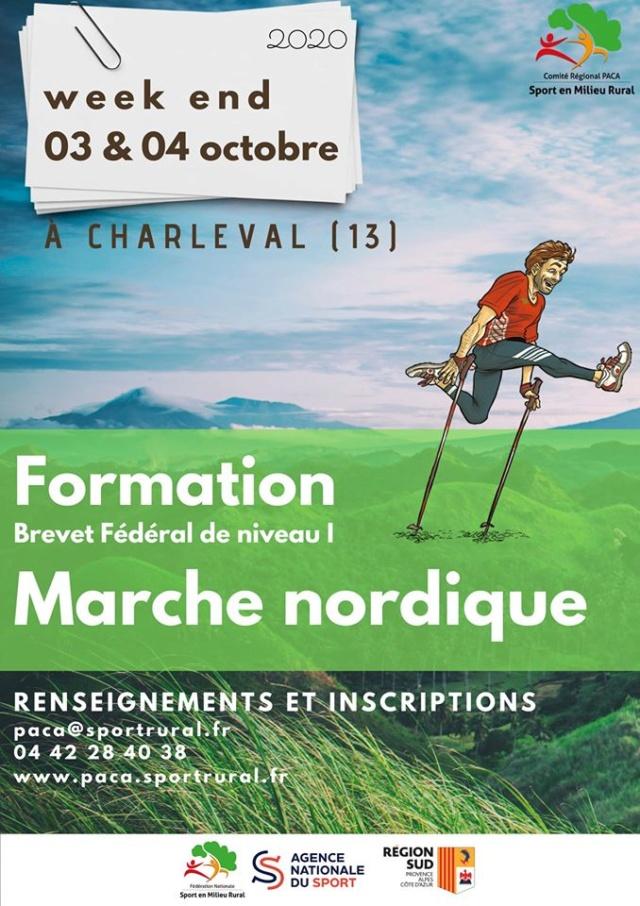 Formation Brevet Fédéral de Niveau 1 Marche Nordique (13) Stage11