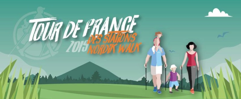Tour de France des Stations Nordik Walk Tdf10