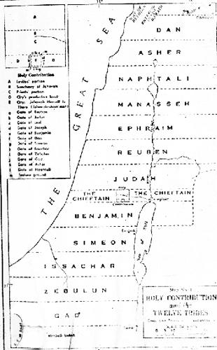 Les noms des 12 tribus d'Israël Israel10