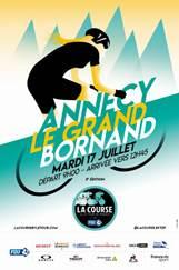 Cyclisme féminin : La Course by le Tour de France 2018 : Du lac (d'Annecy) à la montagne Affich10