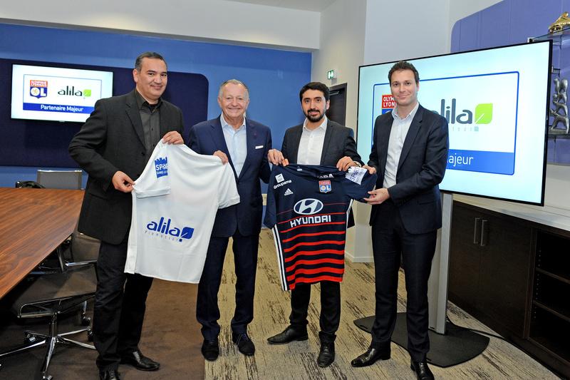 OL : Sport dans la Ville sur les maillots des joueurs de l'Olympique Lyonnais Photo_10