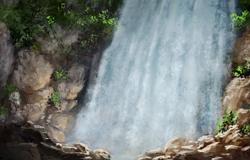 Cascade de Saphir