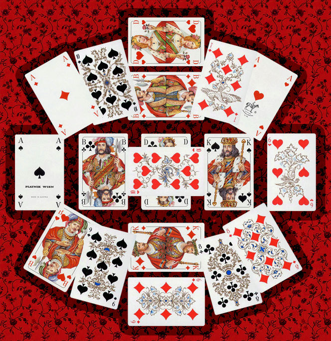 Расклады на игральных картах с картинками