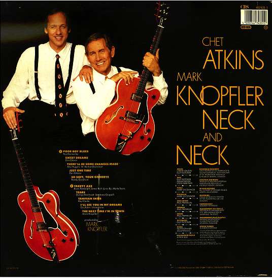 Chet Atkins And Mark Knopfler - Neck And Neck 141