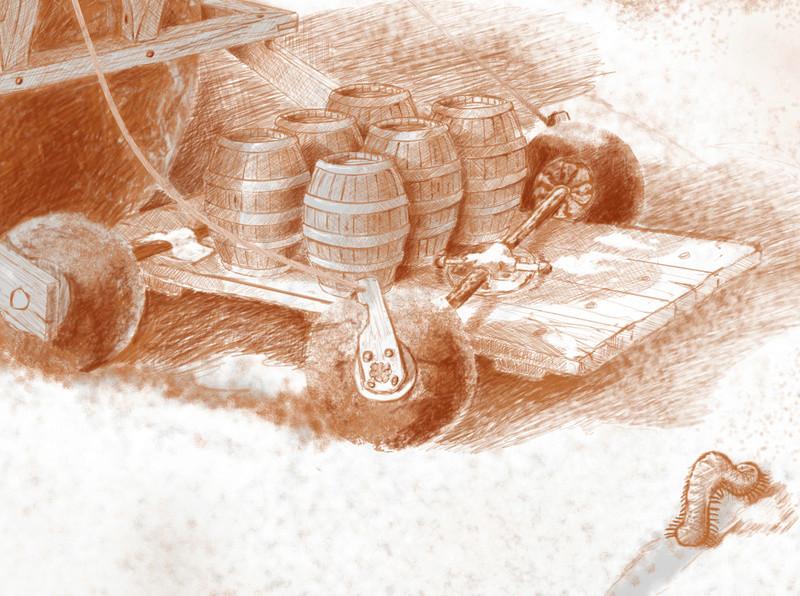 Mes gribouillis. ghola14. Detail11