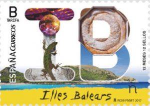 12 mese 12 sellos ...( Serie Correos Provincias ) Illes_11
