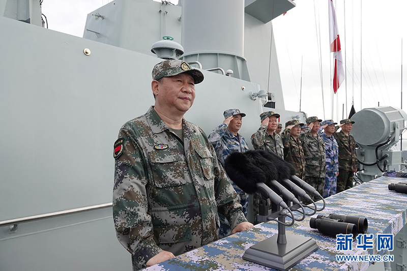 """48 navires de guerre chinois devant """"le grand timonier"""" ! 11226710"""