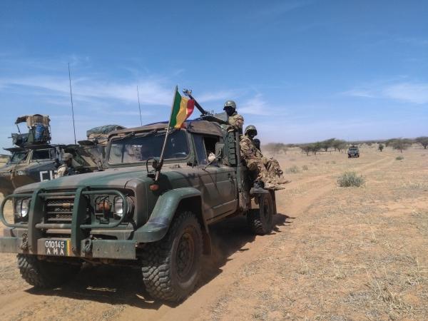 La première opération d'une unité de la force du G5 Sahel  18080410