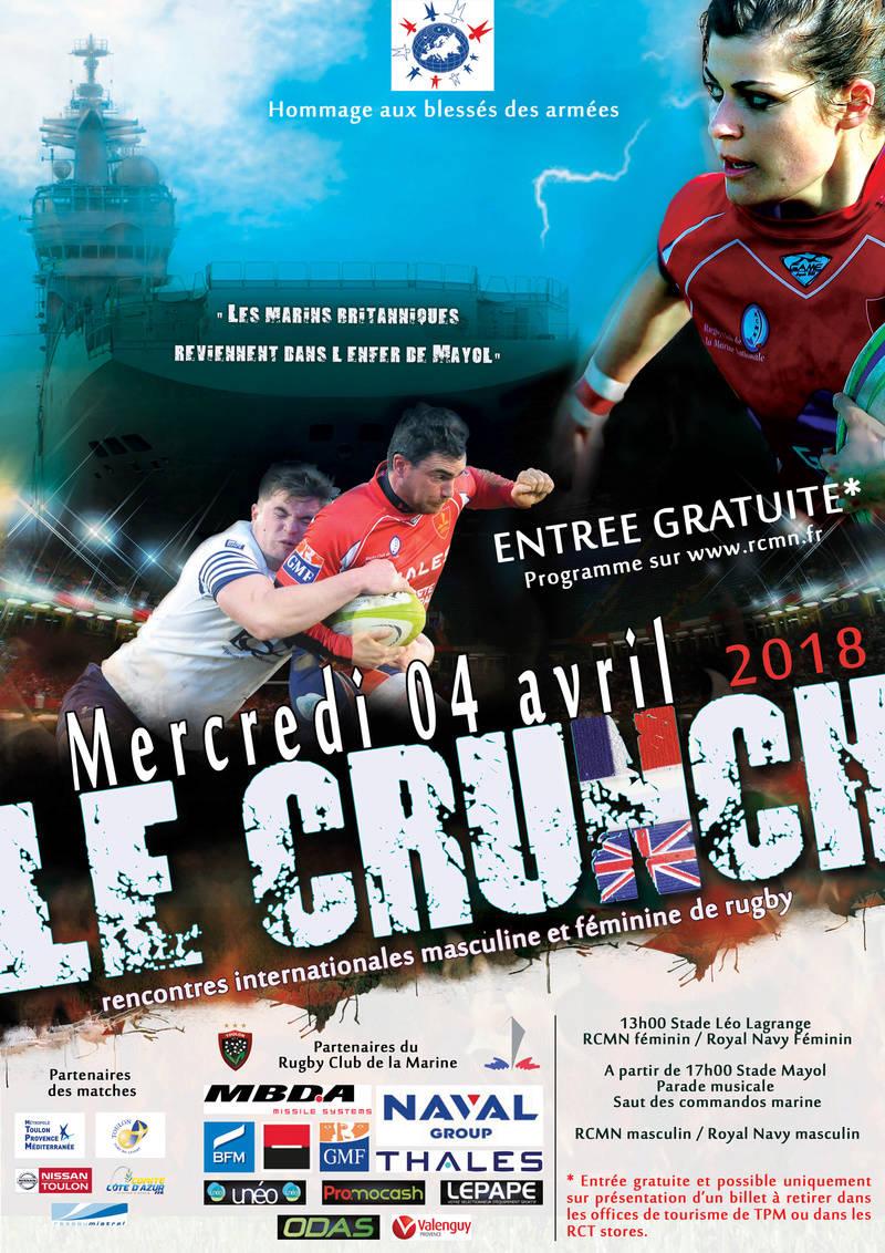 Crunch 2018: la Royale vs Royal Navy à Toulon le 04 avril 18_02_10
