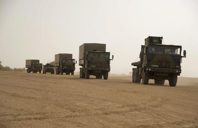 Engagement du groupement tactique désert blindé Dauphin  2013tm12
