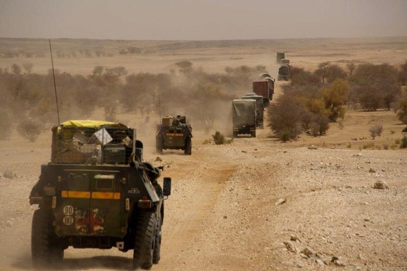 Convoi LOG au Mali, nom de code : Panthéra 2014tm10