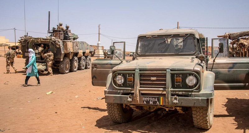 Patrouilles conjointes avec les FAMa à Ménaka 20180512