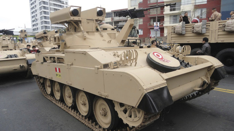 Le Pérou va donner une 2° vie à ses obusiers sur AMX 13 ! 20501210