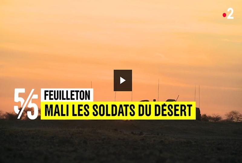 """Replays JT France2 """"Mali, les soldats du désert"""" 5_510"""