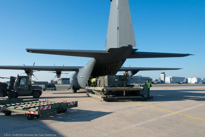 Un premier vol expérimental du C-130J vers la BSS 5ab22410