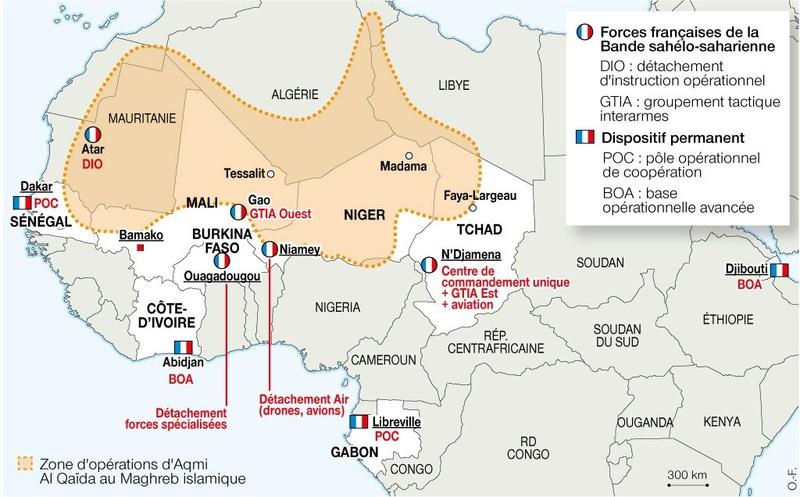 L'étau se resserre dans la zone des 3 frontières au Sahel 96522410