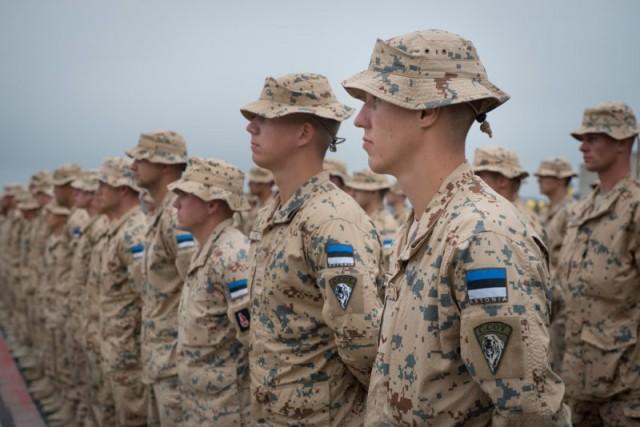 50 soldats estoniens auprès de la France au Mali Amari_10