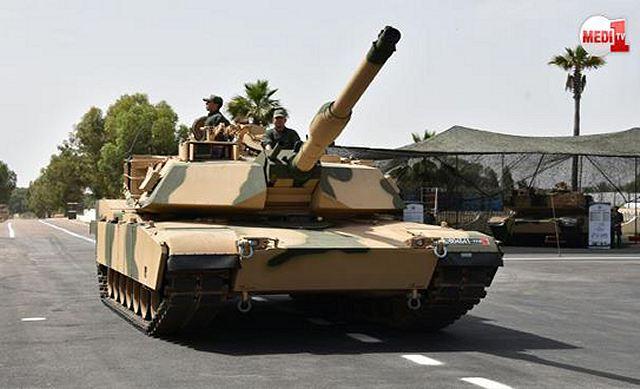 Et 162 chars M1A1 Abrams de plus pour l'armée marocaine ! Americ10