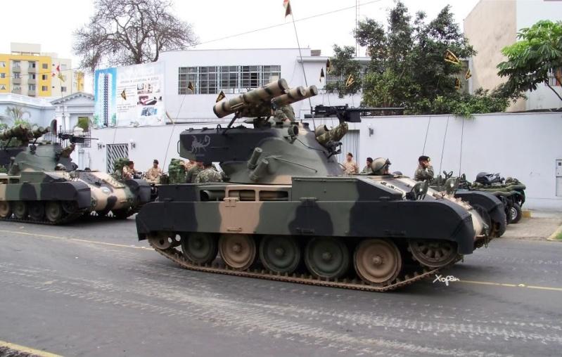 Le Pérou va donner une 2° vie à ses obusiers sur AMX 13 ! Amx-1310