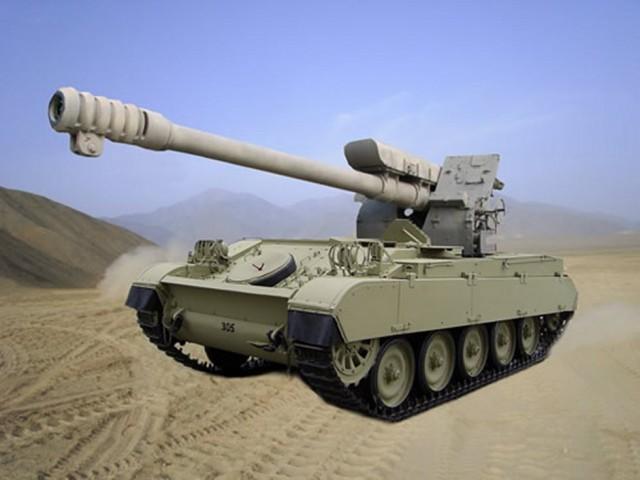Le Pérou va donner une 2° vie à ses obusiers sur AMX 13 ! Amx-d310