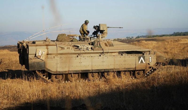 Israel va acheter de centaines de VBCI Eitan Apc10
