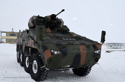 Le Kazakhstan teste le blindé 8x8 Barys/Mbombe Barys_10