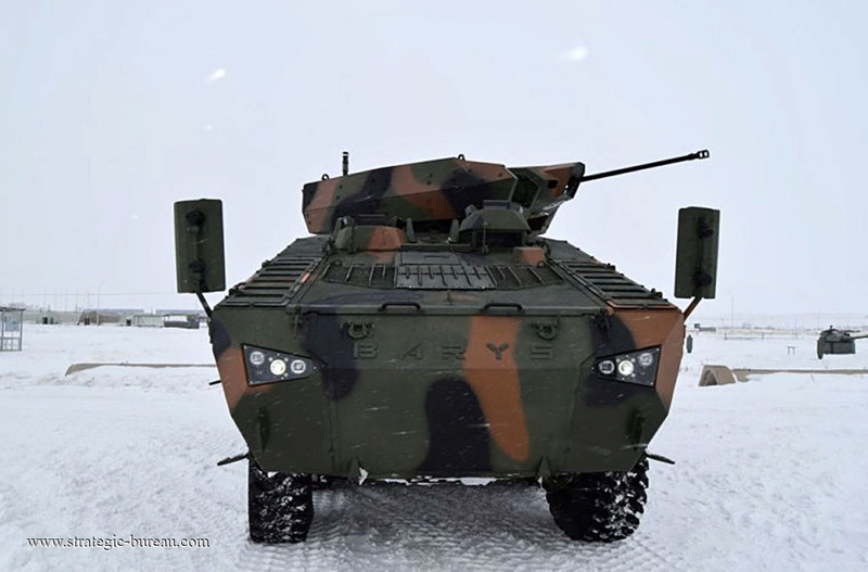 Le Kazakhstan teste le blindé 8x8 Barys/Mbombe Barys_11