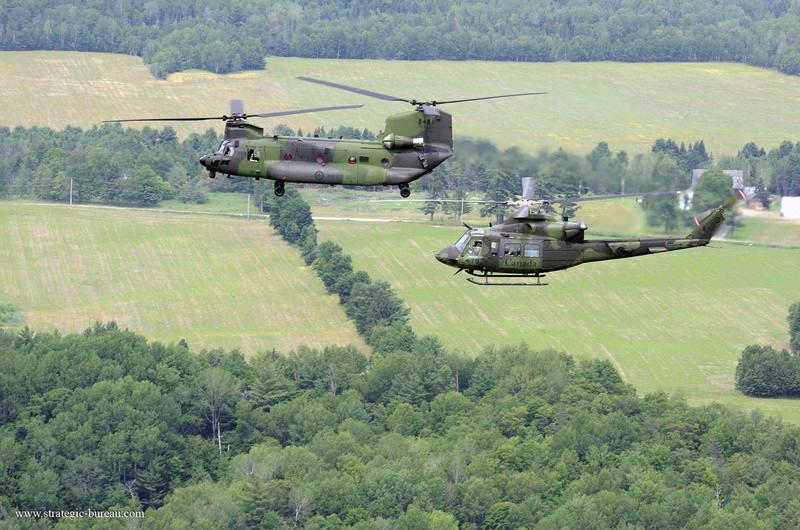 Casques bleus et Hélicoptères canadiens pour la MINUSMA Ch-14710