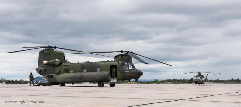 Casques bleus et Hélicoptères canadiens pour la MINUSMA Ch-14711