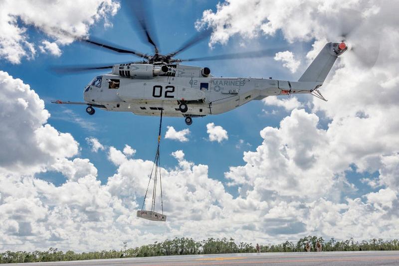 1ère présentation du CH 53-K King Stallion en Europe Ch-53-10