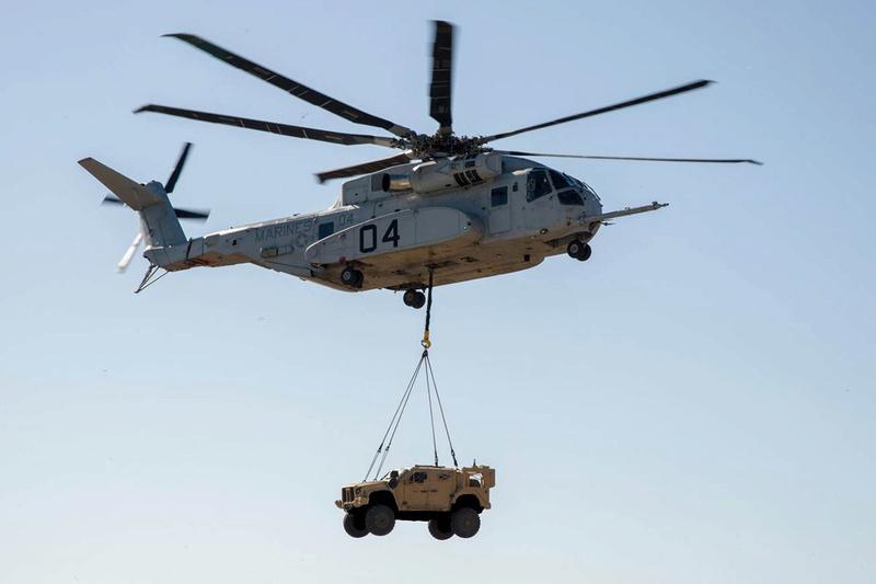 1ère présentation du CH 53-K King Stallion en Europe Ch-53k10