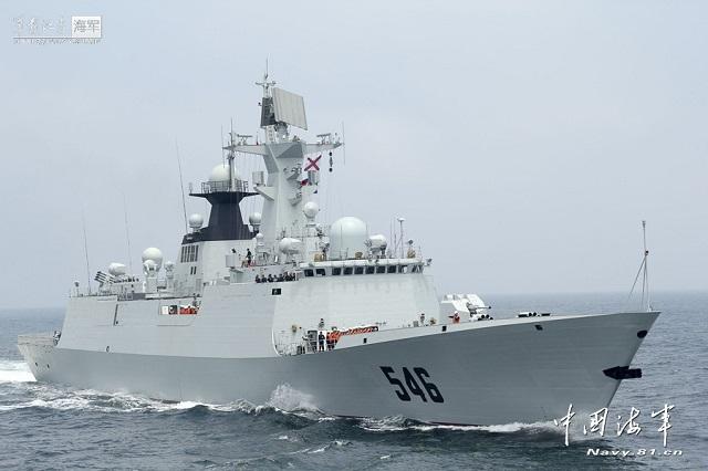 Escorte chinoise pour un navire du PAM dans l'Océan indien Chines10