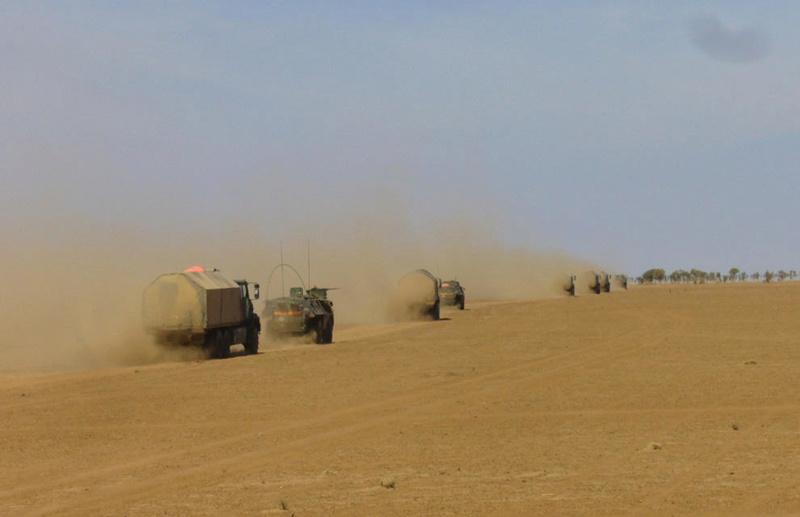 Le GT-LOG assure le soutien de l'opération Koufra Convoi10