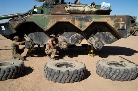 Remise en condition des AMX 10 RC de Barkhane Cscml_10