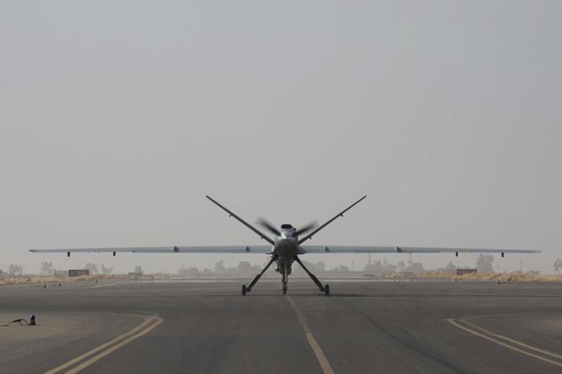 Les drones Reaper, pour renseigner et agir au Sahel Drone110