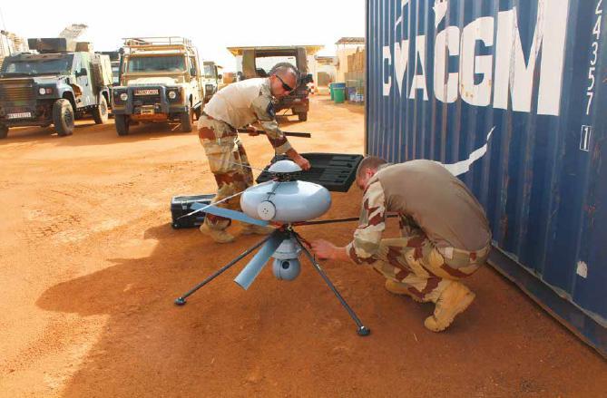 DROGEN, un drone au service du Génie de Barkhane Eca_gr10