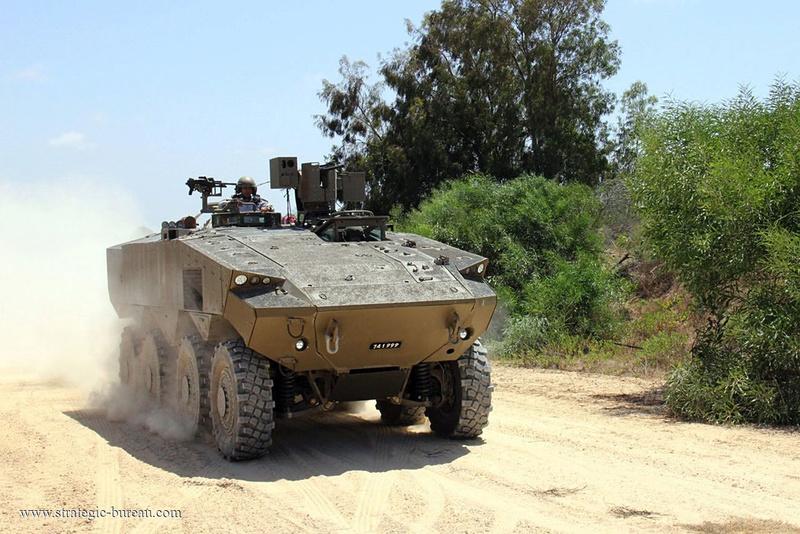 Israel va acheter de centaines de VBCI Eitan Eitan-10