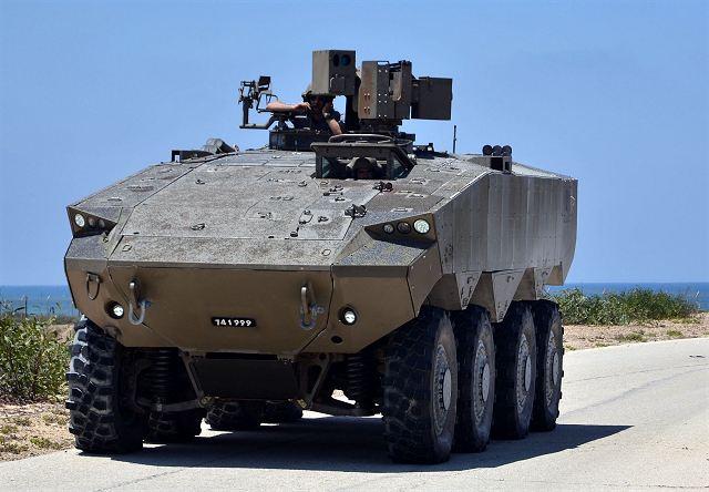 Israel va acheter de centaines de VBCI Eitan Eitan_10