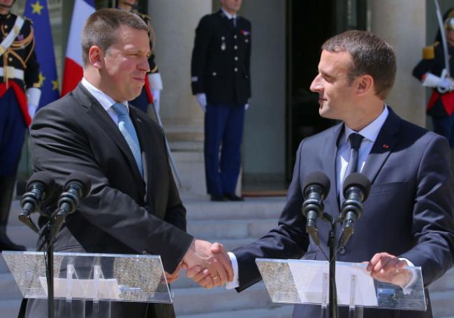 50 soldats estoniens auprès de la France au Mali Estoni10