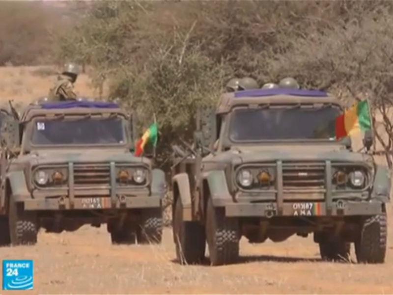 La première opération d'une unité de la force du G5 Sahel  Image113