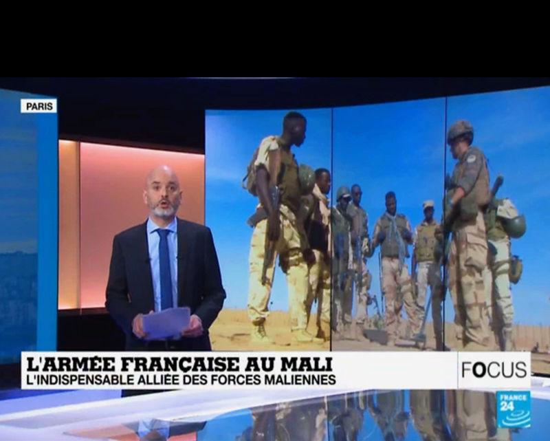 """Reportage Focus de France 24, """"avec Barkhane au Mali"""" Image171"""