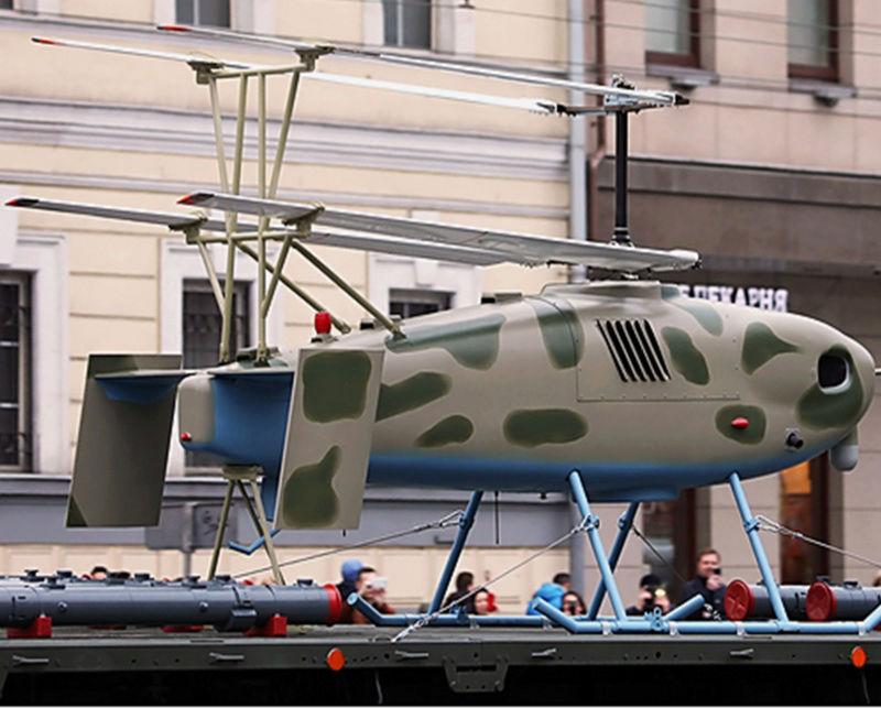 Drones de combat russes dévoilés à Moscou Image243