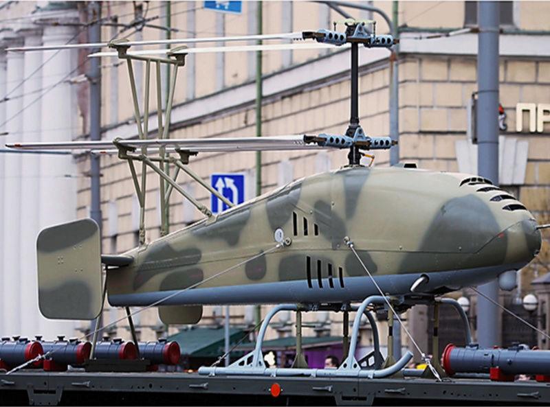 Drones de combat russes dévoilés à Moscou Image322