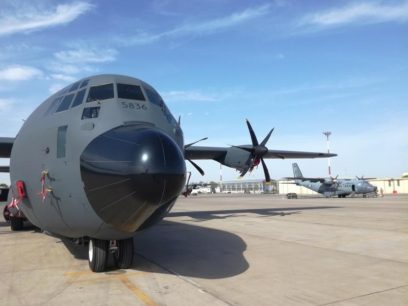 Un premier vol expérimental du C-130J vers la BSS Img_2025